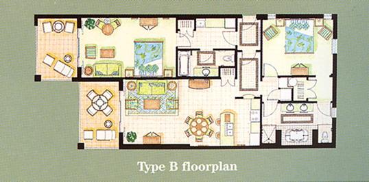 Coconut Plantation Floor Plans