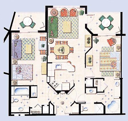 Hyatt Residence Club Resorts – Hyatt Grand Aspen Floor Plans